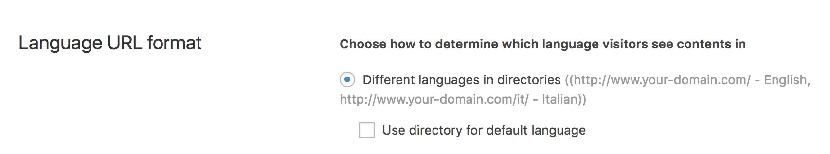 language-format